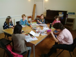 Creative Writing and Art Class in Wimbledon, 2017