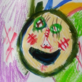 Art Classes in Raynes Park, 2016, 9 year old student