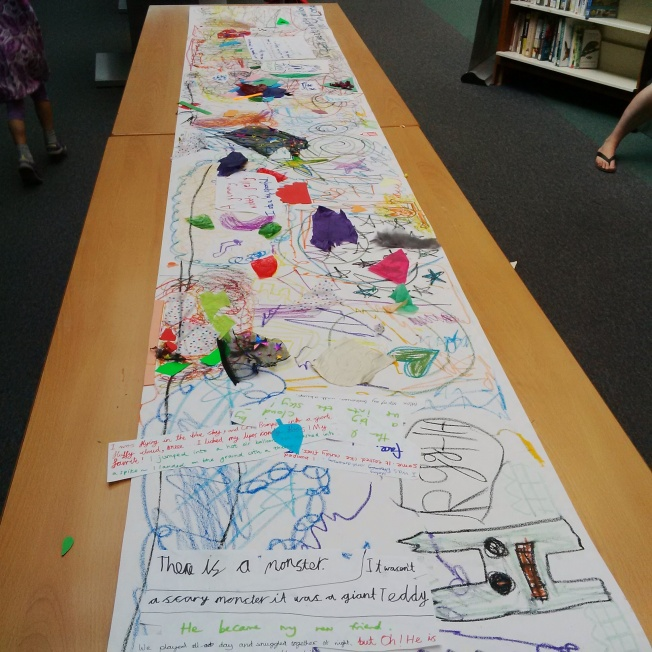 Art Classes in Wimbledon, 2016, 6-10 year old students