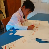 Creative Writing Class in Wimbledon, 6 year old student