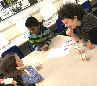 Creative Writing Class, January 2018